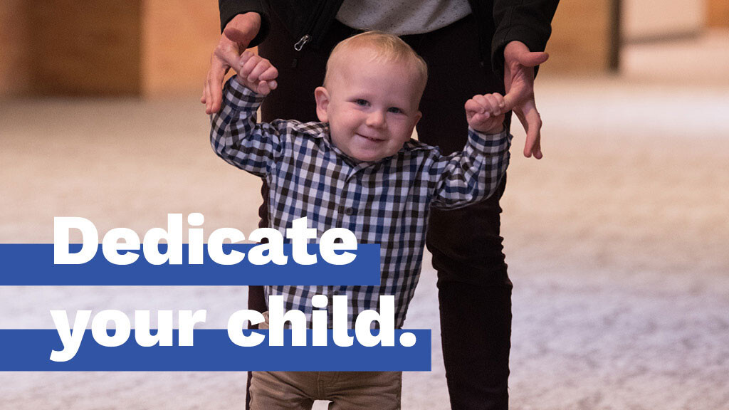 Parent/Child Dedication